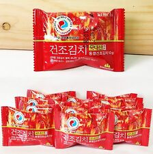 Korean KIMCHI Freeze Dried Kimchi Dried Block for Various Noodles,Outdoor,Travel