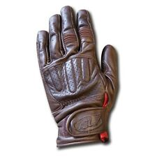 New Roland Sands Design Men's Tobacco Barfly Leather Motorcycle Gloves
