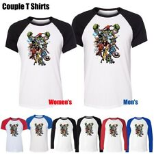 Fashion Spider-Man Iron Man Avengers Thor Graphic Boy's Girl's T-Shirt Tee Tops