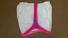 Nike Women's Authentic Running Tempo Track Shorts White 716453 115 Size S M L XL
