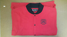 Crooks & Castles Men's Knit Baseball Jacket Black,Red,Grey CSTC Size M-5XL