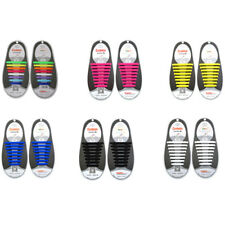 SLIP ON'S NO TIE ELASTIC SILICONE SHOELACES FOR RUNNING Sneakers Canvas Shoes