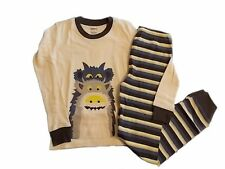 NWT Boy's Gymboree Monster long sleeve shirt & pants pajamas gymmies ~ 3 6