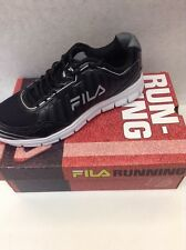 FILA Mens Black/White/Silver Running Sneakers Shoes  NEW   Winsprinter