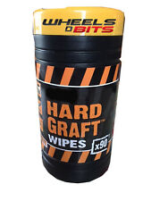 LARGE WORK MAN MECHANICS ENGINEERS CARPENTERS BUILDER HAND WIPES OIL GREASE GLUE