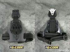 NEW G-CODE MULE ISS DROP LEG HOLSTER CARRY PLATFORM BLACK with RTI WHEEL