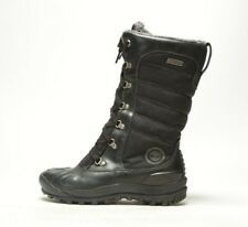 NEW WOMEN'S TIMBERLAND MOUNT HOLLY TALL LACE DUCK BOOT BLACK 21645 MEDIUM WIDTH