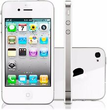 Apple iPhone 4 32GB Unlocked GSM AT&T T-Mobile  Smartphone White/Black