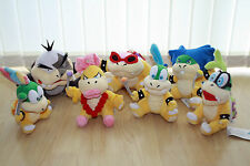 New Super Mario Bros, Peluche Koopalings-Morton, lemmy, Roy, Iggy, Ludwig, Wendy