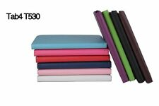 360 Rotating Folio Stand Leather Case Cover For Samsung Galaxy Tab T530