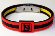 Dr-ion Negative Ion ENERGY Wristband Bracelet DUAL DESIGN w/ Clasp NEW COLORS