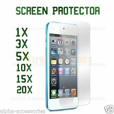 Crystal Clear Film LCD Screen Protector Lot For Apple iPod Touch 5th Generation