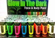 Paintglow Brillan En La Oscuridad Face & Body Paint ❤ ♥ Partido, Festival, Rave, Uv ♥ ❤