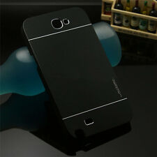 Motomo Hybrid Metal Aluminum Brushed Hard Case Cover For Samsung Galaxy Note 2