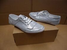 Creative Recreation Women's Cesario Lo XVI Silver Foil Shoes