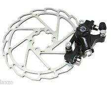 Clarks CMD-11 Mechanical 160mm Disc Brake Front and Rear in Black Mountain Bike