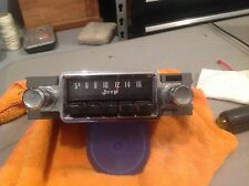 Jeep stock am radio