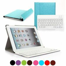 For Apple iPad Air 1 PU Leather Cover Case Removable Wireless Bluetooth Keyboard