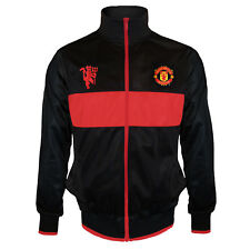 Manchester United Football Club Official Soccer Gift Boys Retro Track Jacket