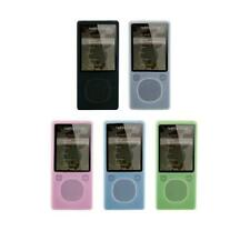 for Microsoft Zune 4GB 8GB 16GB MP3 Player Soft Silicone Rubber Skin Cover Case