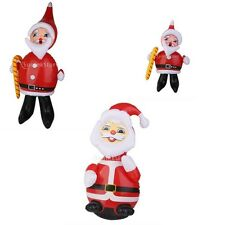 Inflatable Santa Claus Figures Blow Up Christmas Yard Lawn Santa Decoration NEW