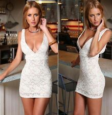 Sexy Women Sleeveless Slim Bodycon Party Dress Evening Cocktail Short Mini Dress