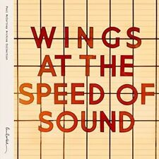 At the Speed of Sound - Mccartney,Paul & Wings New & Sealed CD-JEWEL CASE Free S
