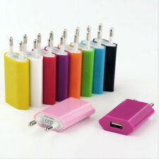 10PC  New European USB Power Adapter EU Plug Wall Travel Charger For 1a
