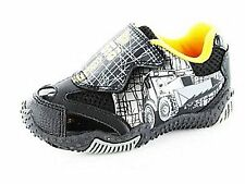 Boys Infant Kids Black JCB Digger Novelty Casual Trainer Shoes Size