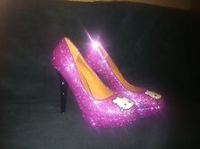 * * * HELLO KITTY INSPIRED GLITTER SHOES/HEELS * * * all sizes avalible