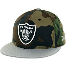 New Era Ballistacam Oakland Raiders Hat (Camouflage/Grey) NFL 59Fifty Fitted Cap