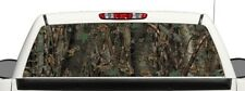 Vehicle Truck Rear Camo Window Graphic Decal Perforated Vinyl Wrap