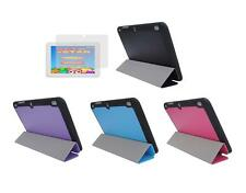 """Slim Folio Cover Case + Screen Protector for Insignia Flex 8"""" NS-P16AT08 Tablet"""