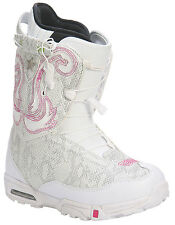 Forum Stampede SLR Snowboard Boots White Womens