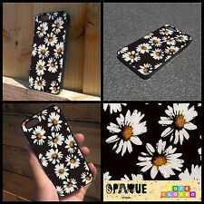 BLACK DAISY FLORAL GRUNGE GRAITTI TUMB iPhone Samsung HTC Hard/Rubber Case Cover