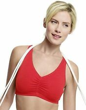 2-Pack Hanes Women's Stretch Cotton Sport Top Sports Bra S - 2XL ALL COLORS Best