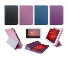 Folio Skin Cover Case and Screen Protector for Toshiba Excite AT305SE AT300SE
