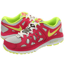 Nike Dual Fusion Run 2 GS  Running Trainers Pink