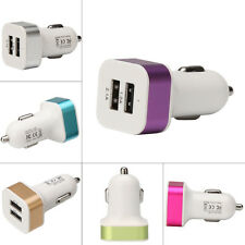 Mini Dual USB Charger 2-Port Car Charger For Samsung iPhone iPad Tablet Phone