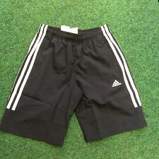 ADIDAS, YOUNG KIDS ESSENTIAL SHORTS, NAVY, SIZE CHOICE, ICONIC 3-STRIPE DESIGN
