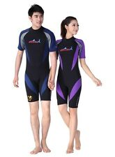 1.5mm Neoprene Diving Wetsuits Short Sleeve Swimming Surfing Jumpsuit Wetsuit