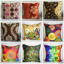 New Designer Leaf Floral Scatter Sofa Cushion cushions Cover covers 16x16 40x40