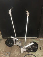 2 Invader Electric Downriggers with Rod Holders & Bases Model 5593 Heavy Duty