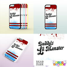 HARLEY QUINN SUICIDE SQUAD Inspired For iPhone Samsung Hard/Rubber Case Cover