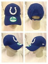 NFL Indianapolis Colts New Era 9Forty The League Team Color Cap Hat Adjustable
