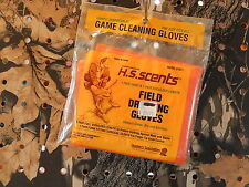 Hunter's Specialties Field Dressing Gloves One Size Fits Most Handy! Disposable!