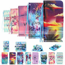 Luxury Painted Y Wallet Flip Leather Case Cover For Samsung Galaxy S5/S6/S6 edge