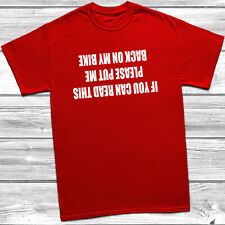If You Can Read This - Mens Funny Cycling T-Shirt Road Mountain Bike