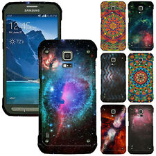 For Samsung Galaxy S5 Active G870A Design SNAP ON Hard Skin Protector Case Cover