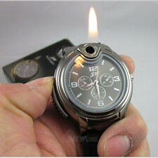 Hot Sale Latest Men's Military Lighter watch sports casual Refillable Gas Watch
